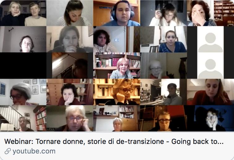 TORNARE DONNE: STORIE DI DETRANSIZIONE