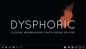 Dysphoric: fuggire dall'essere donna come da una casa in fiamme