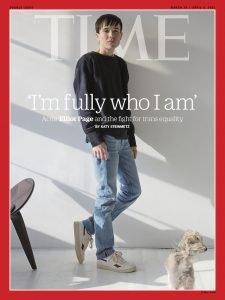 Elliot Page, trans-eroe celebrato dai media di tutto il mondo