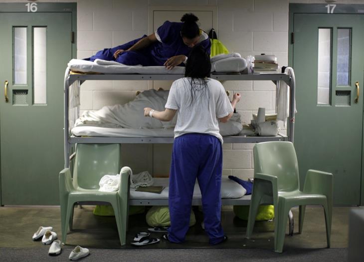 Uomini nelle carceri femminili: le lettere delle detenute californiane