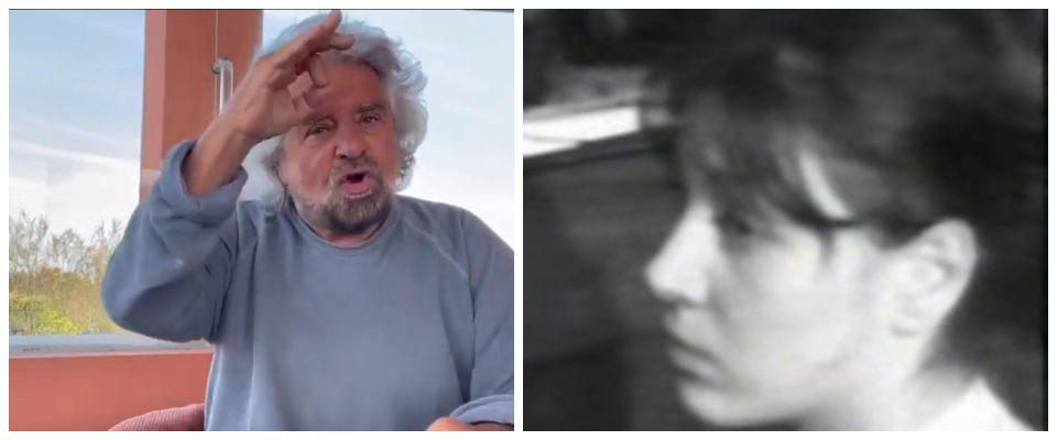 Grillo e la madre in Processo per stupro: stesse parole, differenza assoluta
